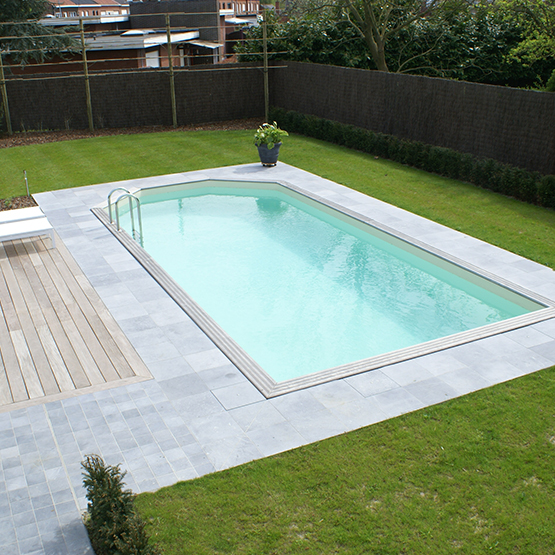 Amenagement piscine exterieur id es de conception sont int - Amenagement de jardin avec piscine ...