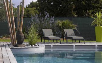 aménagement de piscine extérieure