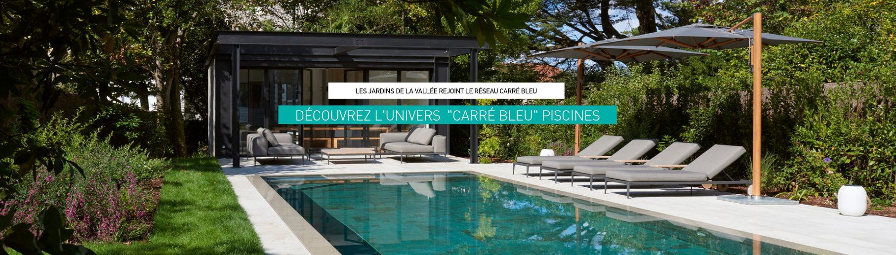 Piscines Carré Bleu