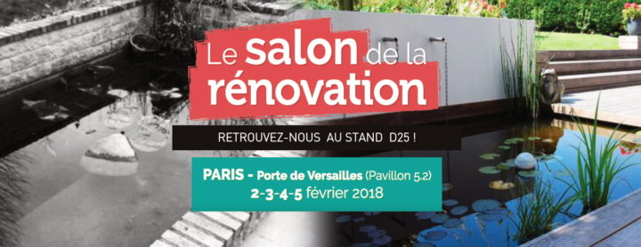 salon de la r novation 2018 retrouvez vos paysagistes jardins de la vall e. Black Bedroom Furniture Sets. Home Design Ideas